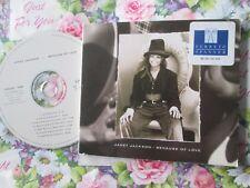 Janet Jackson – Because Of Love Label: Virgin – VSCDG 1488 UK Promo CD Single