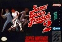 Super Bases loaded 2 - Original Nintendo SNES Game