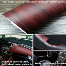 Car SUV Interior DIY Styling Wood Textured Grain Vinyl Wrap Sticker Decal Sheet