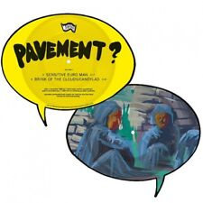 """PAVEMENT Sensitive Euro Man  7"""" single Limited shaped picture NEW .cp"""