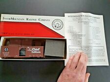 "INTERMOUNTAIN RAILWAY Co.10' 6"" High AAR Boxcar A.T.S.F SUPER CHIEF # 145539"