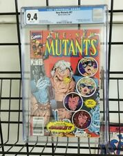 Marvel Comics New Mutants #87 1st Appearance of Cable CGC 9.4 Newsstand Edition