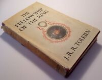 J R R Tolkien The Fellowship Of The Ring, 1st Edition 5th Impression 1956, HB DJ