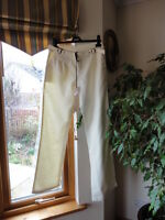 Linen Blend Trousers from Naughty Waist 32 inc Length 32inc,New with tags,RRP£95