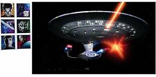 Star Trek Starship Enterprise Mouse Pad Full Attack with 6 Stickers, MP318