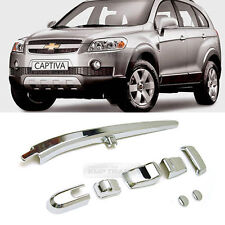 Chrome Rear Window Trim Wiper Arm Molding 8pcs For 2008+ Chevrolet Chevy Captiva