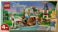 LEGO Disney Princess 41159 Cinderella's Carriage Ride (91pc) Brand NEW & RETIRED