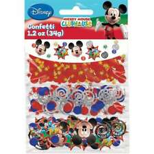 MICKEY MOUSE BIRTHDAY PARTY SUPPLIES DECORATIONS TABLE CONFETTI SCATTERS