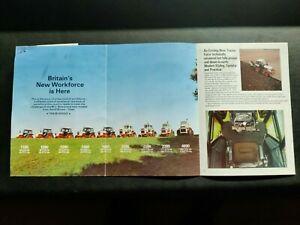 DAVID BROWN TRACTORS A DIFFERENT KIND OF WORKFORCE COLOUR FARMING BROCHURE VGC