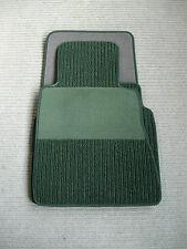 $$$ Rips Fußmatten für Mercedes Benz W124 Coupe C124 E-Klasse + pinie grün + NEU
