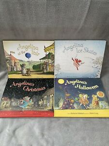 Angelina Ballerina Books X4