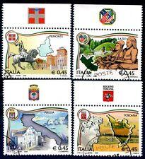 2006 - REGIONI D'ITALIA SERIE CON BANDELLE  USATI