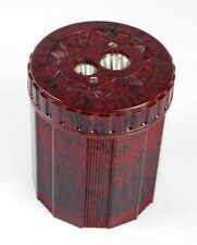 Pencil Sharpener, DUX 2-Hole, Red Marble, DX9239