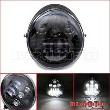 LED Front Hi/Lo Headlight Lamp Projector For Harley Street Rod VROD VRSC VRXSE
