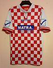 VINTAGE ASD SESTESE FOOTBALL CLUB MATCH WORN # 3 RED WHITE HOME SHIRT L ITALIA