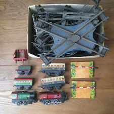 Train Meccano Hornby Paris - Rails Aiguillages Barrières Locomotives Wagons
