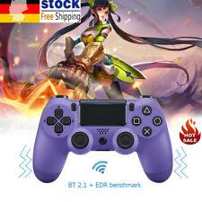 DE Drahtloser Bluetooth Gamepad Joystick Game Controller mit Touch Plate Für PS4