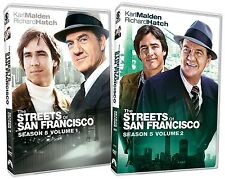 THE STREETS OF SAN FRANCISCO : SEASON 1 2 3 4 & 5 box sets   - DVD - Region 1
