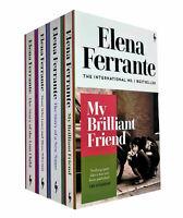 My Brilliant Friend Series 4 Books Collecton Set by Elena Ferrante Paperback NEW