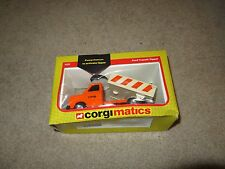 Corgimatics Ford Transit Tipper Truck Diecast 1983 Nice With Box See My Store