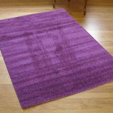 Wellness Large Thick Plain Lilac Rug 1.35m X 1.9m 4'5 x 6'2