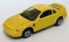 1999 Rare Ford Mustang GT 1st Year 1/64 Diecast Yellow - Rare !!