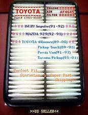 Toyota Tacoma 4Runner Previa Air Filter 4645 Perfect Fit Guarantee&Fast Ship^o^