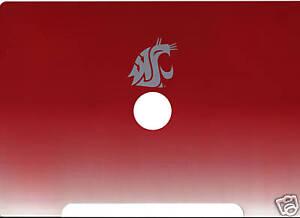 Washington State University laptop computer skin decal