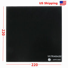 *US STOCK* Anycubic 3D Printer Platform Ultrabase 220x220mm Glass Build Plate