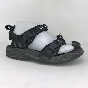 Nike Mens ACG Air Deschutz Black Synthetic Sport Sandals Comfort Buckle Size 7