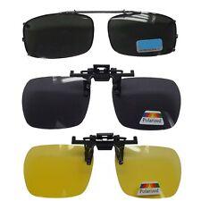 Clip lunettes Polarisé conduite ou solaire anti reflet Sur lunettes homme  femme 6b579e7dc920