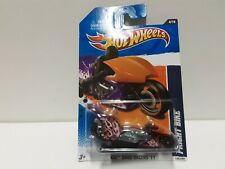 2011 Hot Wheels Drag Racers Fright Bike Purple 124/244