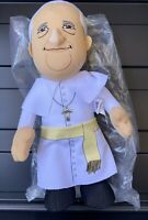 Bleacher Creatures Pope Francis Plush Catholic Religion Holy Father New w/Tag