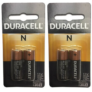 2x Duracell 2pk 1.5V N Size Alkaline Battery MED Devices Child Locators GPS