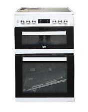 Beko KDC653 60cm Freestanding Electric Cooker - White