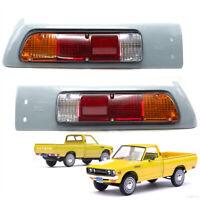 Set Tail Lights Lamp + Case For Datsun Nissan 620 1600 UTE Pick Up 1972 1979