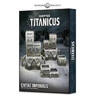 Adeptus Titanicus Civitas Imperialis - Warhammer 40k - Brand New! 400-10