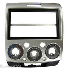 CT23FD14 FORD RANGER 2007 to 2012 SILVER DOUBLE DIN FASCIA ADAPTER PANEL
