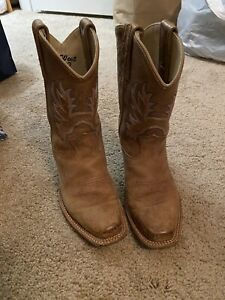 Girls Old West Size 120 Cowboy Boots Euc