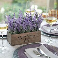Artificial Lavender Plant Silk Flowers Wedding Decor Table Centerpieces