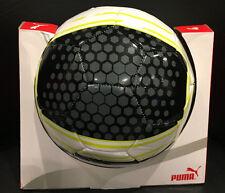 PUMA Soccer Ball - Official Size 4 Black/Gray/Green