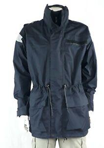 Genuine Surplus Royal Navy Gore-tex Waterproof Breathable Jacket Coat Unlined