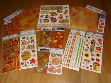 Thanksgiving Scrapbooking Kit #1 Paper stickers Sandylion Mrs. Grossman's Fall
