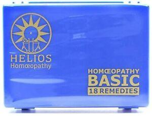 Helios Homeopathy Basic 18 Kit