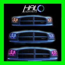 2006-2010 ORACLE DODGE CHARGER COLORSHIFT LED HEADLIGHT HALO RINGS KIT