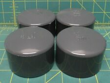"(4) Lasco PVC Cap, Socket, 2"" Pipe Size - Pipe Fitting"