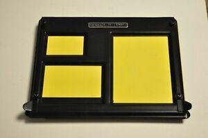 """Premier 4-In-1 metal darkroom printing easel for enlarging. Wallet to 8x10""""."""