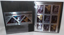 STAR WARS : STAR WARS TRILOGY STAMP COLLECTION MADE IN 1995 (TK)