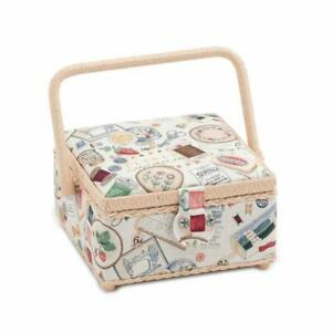 HobbyGift Square Sewing Box (S) - sewing Notions