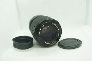 Tokina SD 70-210 F/4-5.6 MF lens for Canon FD mount from Japan, J0547